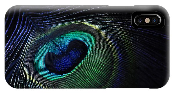 Nocturnal Pavo Phone Case by Marina Slusar
