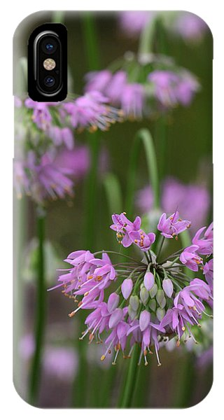 Nodding Wild Onion IPhone Case