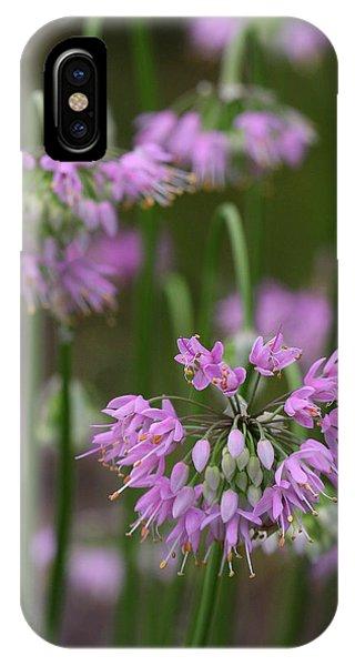 Nodding Wild Onion IPhone Case