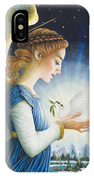 Angels iPhone Case - Noel by Lynn Bywaters