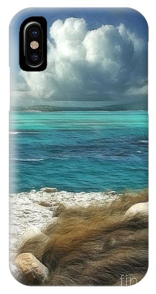 Sea iPhone X Case - Nonsuch Bay Antigua by John Edwards