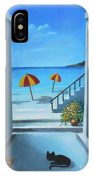 Noon At The Beach IPhone Case
