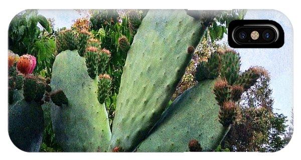 Nopales Cactus IPhone Case