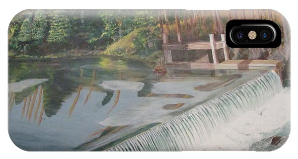 Nora Mill Waterfall IPhone Case