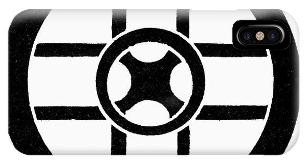 Nordic Symbol Wheel Cross Phone Case by Granger