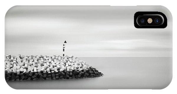 Simple Landscape iPhone Case - Nordsa? by Christophe Staelens