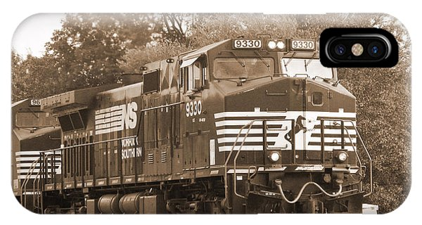 Norfolk Southern Freight Train IPhone Case