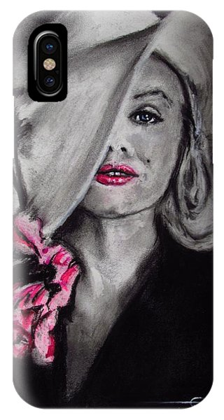 IPhone Case featuring the drawing Norma Jean by Eric Dee