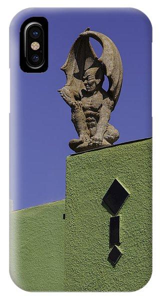 Normal Heights Gargoyle IPhone Case