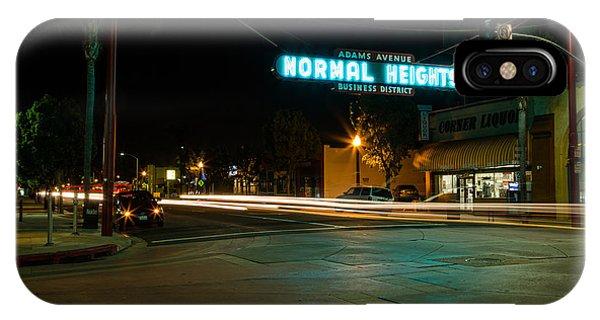 Normal Heights Neon IPhone Case