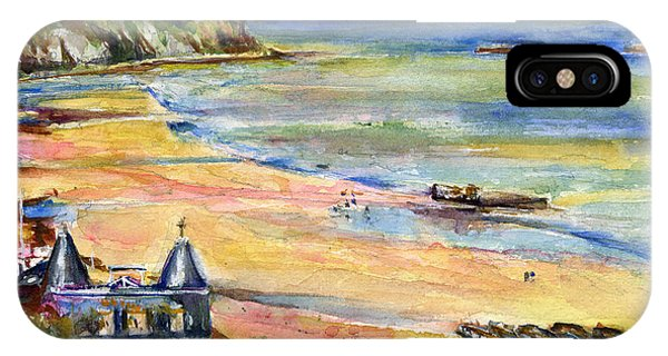 Normandy Beach IPhone Case