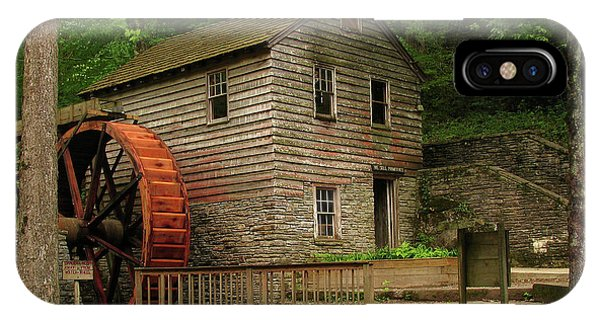 Rice Grist Mill IPhone Case