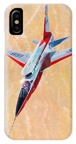 North American F-107a Ultra Sabre IPhone Case