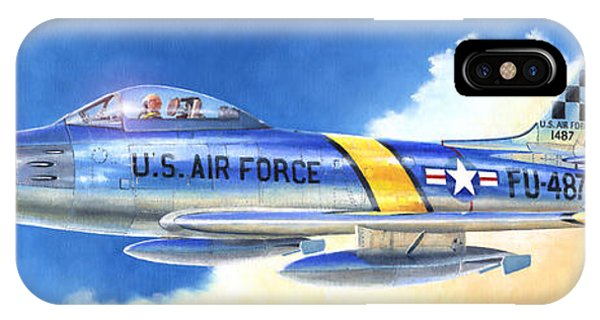 North American F-86f Sabre IPhone Case