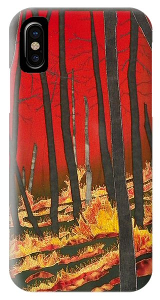 North Carolina Forests Under Fire II IPhone Case
