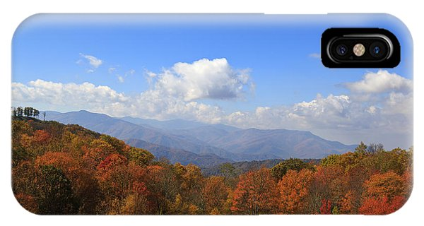 North Carolina Mountains In The Fall IPhone Case
