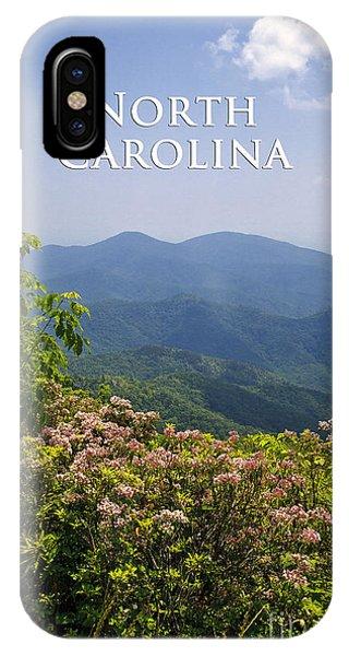 North Carolina Mountains IPhone Case