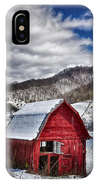 North Carolina Red Barn IPhone Case