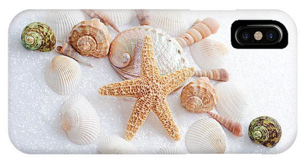 North Carolina Sea Shells IPhone Case