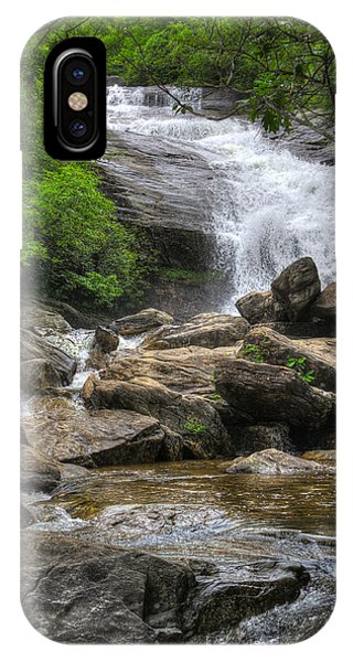 North Carolina Waterfall IPhone Case