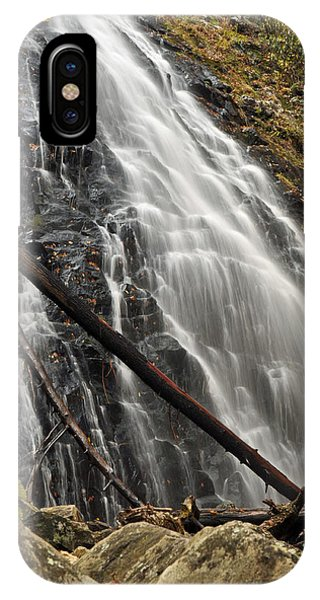 North Carolina's Crabtree Falls Autumn Colors IPhone Case