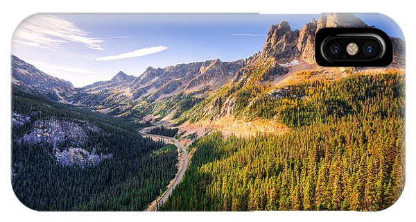 North Cascades Liberty Bell IPhone Case