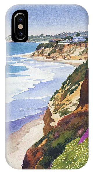California iPhone Case - North County Coastline by Mary Helmreich