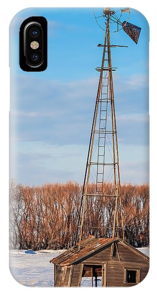 North Dakota Farmstead IPhone Case