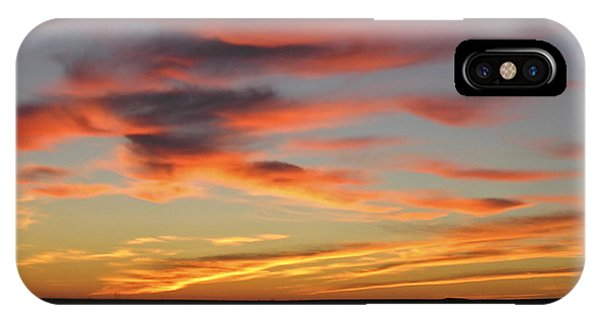 North Dakota Sunset IPhone Case