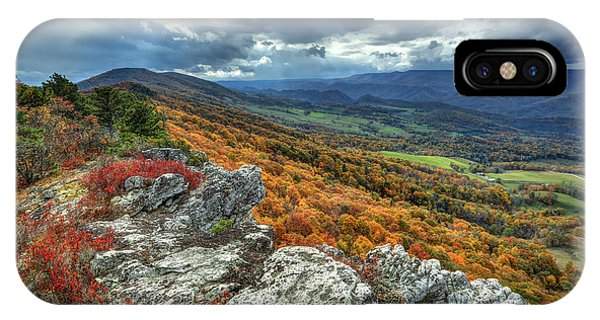North Fork Mountain Overlook IPhone Case