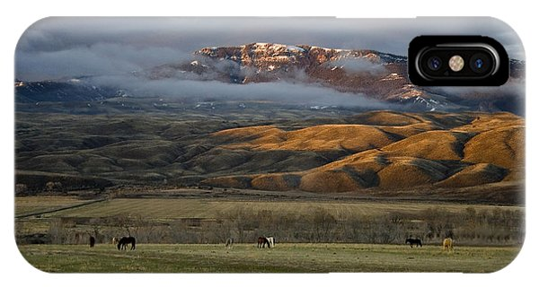 North Fork Pasture-signed IPhone Case