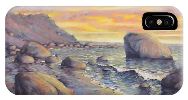North Fork Sunset IPhone Case