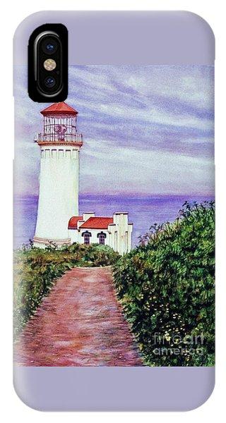 North Head Light House On The Washington Coast IPhone Case