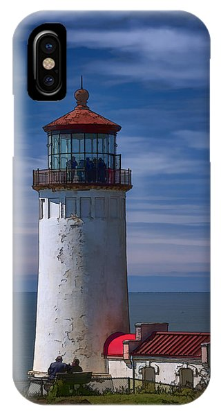 Navigation iPhone Case - North Head Lighthouse by Joan Carroll