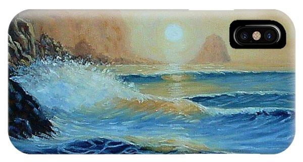 North Head Twilight Mist IPhone Case
