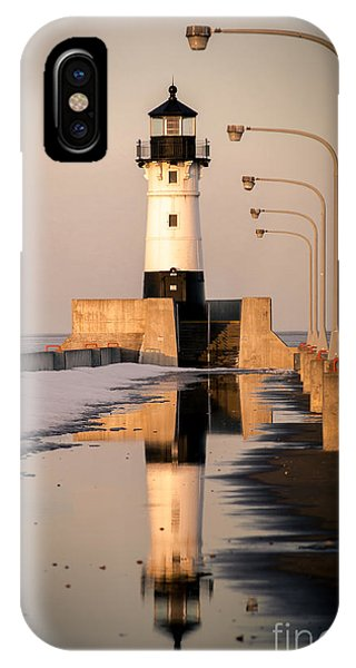 North Pier Sunset Melt IPhone Case