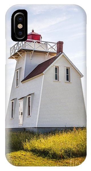 Lighthouse iPhone Case - North Rustico Lighthouse by Elena Elisseeva