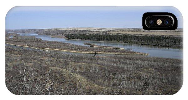 North Saskatchewan River IPhone Case