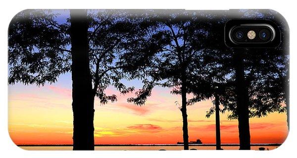 North-shore Sunset IPhone Case