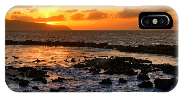 North Shore Sunset IPhone Case