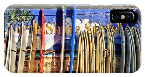 North Shore Surf Shop IPhone Case
