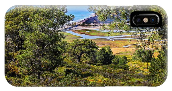 North Torrey Pines Del Mar Phone Case by Russ Harris