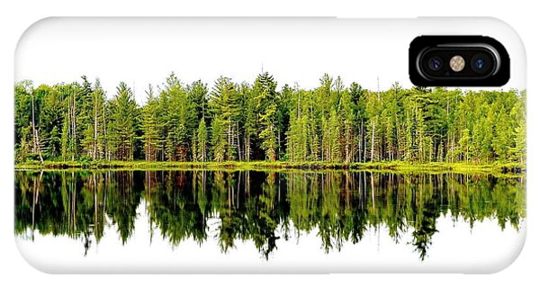 North Tree Reflection IPhone Case