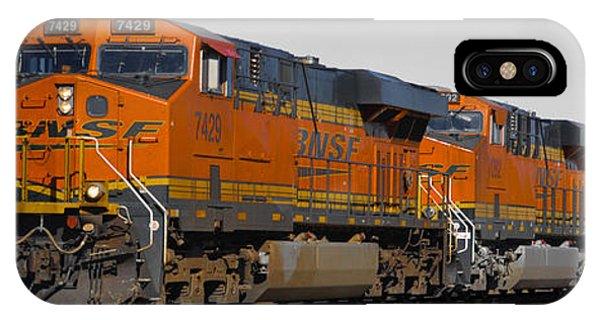 Northern Arizona's Orange Lumbering Beast IPhone Case