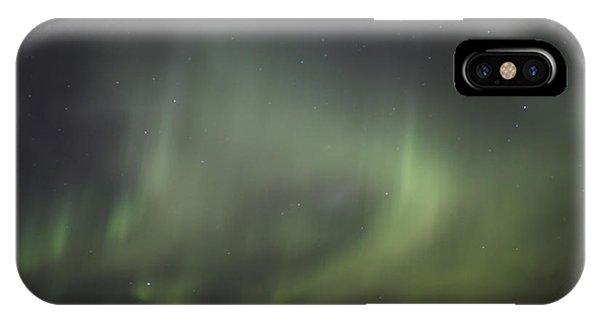 Northern Lights Over Wroxton IPhone Case