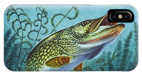 Northern Pike Spinner Bait IPhone Case