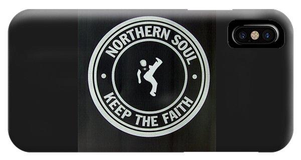 Northern Soul Dancer Inverted IPhone Case