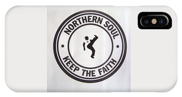 Northern Soul Dancer IPhone Case