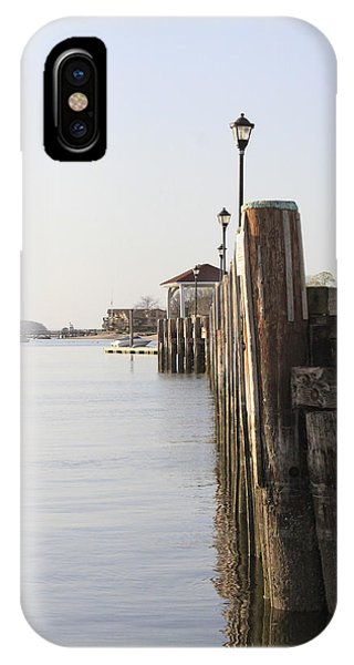 Northport Dock A Different Perspective IPhone Case