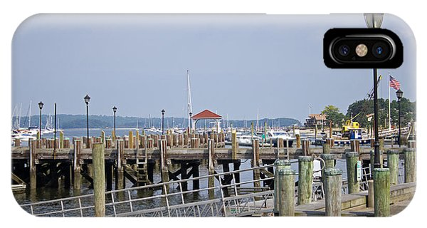 Northport Dock Long Island New York IPhone Case
